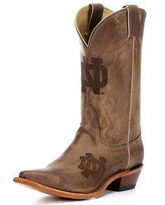 Women's University of Notre Dame Branded Boot