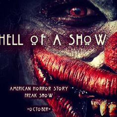 Let's All Go To The Circus Me sento male #americanhorrorstory #americanhorrorstoryfreakshow #freakshow #freak #circus #horrorseries #smile #fox #horror #love #amazing #presaabene #mesentomale #italia #igersitalia #roma
