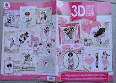 Magazine 3D Carterie/scrapbooking pour la réalisation de 14 Cartes Romantique : Papeterie, carterie par happy-scrap-arts