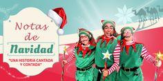 Notas de navidad... ¡Una historia contada y cantada! Ronald Mcdonald, Fictional Characters, To Tell, Seasons, Historia, Xmas, Fantasy Characters