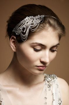 Hair piece - another Jenny Packham confection
