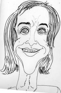 CARICATURAS DELBOY: maria luisa cuculiza