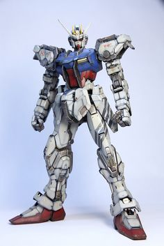 GUNDAM GUY: PG 1/60 Strike Gundam - Painted Build