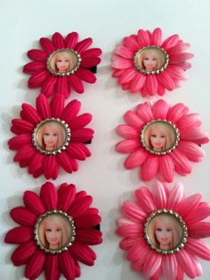 Barbie Birthday Party Hair Bow Pack