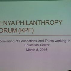 #Phil4Edu The #Foundation and Trust they don't focus on #Students living with #disability and we should look beyond all Special #Children #Philanthropy www.kilelefoundationkenya.com