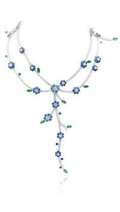 VAN CLEEF & ARPELS Broderie necklace