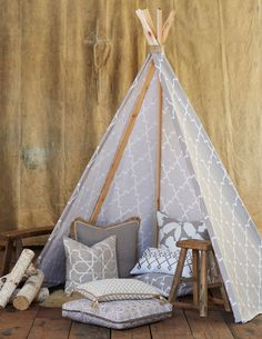 Lacefield Bisque Pillow Collection | 2015 Neutral Pillows www.lacefielddesigns.com #teepee #textiles #madeintheusa