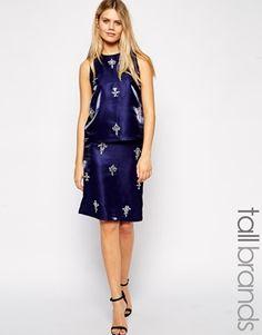 True Decadance Tall Embellished Skirt