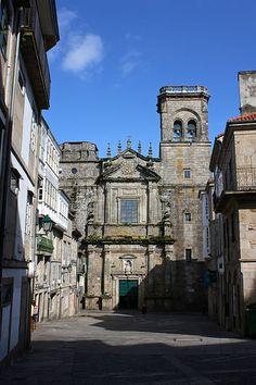 "The 4 Churches of Santiago de Compostela's ""Skyline"""