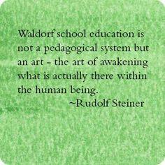 Rudolf Steiner #WaldorfEducation #Homeschooling