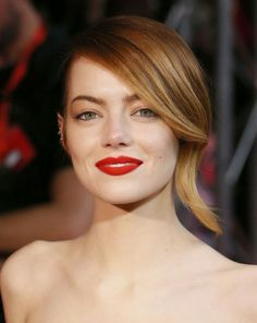 I want #pretty: #Beauty- #Peinados y #maquillajes para el fin de semana/Special occasions- #Weekend #Hair & #Makeup . #EmmaStone