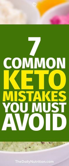 It's easy to get tripped up on the ketogenic diet if you're not too careful. These are some common keto mistakes that people make.