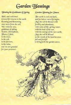 Witch Garden: #Witch #Garden ~ BOS Garden Blessing page. - Pinned by The Mystic's Emporium on Etsy