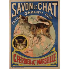cats in vintage advertising - Google Search