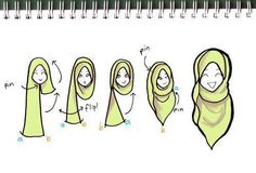 Hijab Tutorial #3.