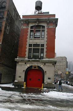 FDNY Ladder 8   AKA Ghostbusters Fire station