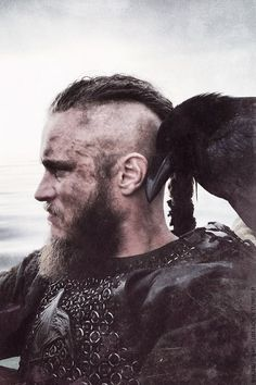 Ragnar Lodbrok was born as the son of Sigurd Ring, who was king of both Sweden and Denmark. Rangar himself claimed to be a direct descendant of the god Odin.