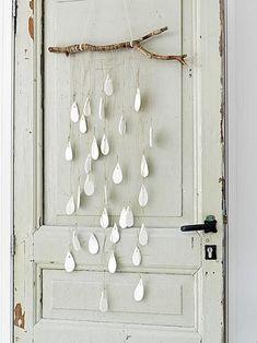decoracion lluvia