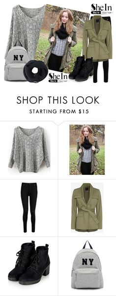 """""""Shein sweater"""" by irinavsl ❤ liked on Polyvore featuring Whistles, Marissa Webb, Topshop, Joshua's, women's clothing, women, female, woman, misses and juniors"""