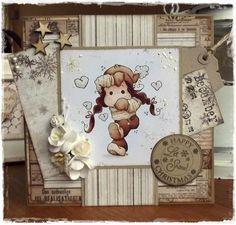 Handmade by Krista Magnolia Stamps, Advent Calendar, Holiday Decor, Cards, Handmade, Home Decor, Hand Made, Homemade Home Decor, Decoration Home