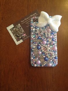 """USMC iPhone case bling """"an honor !"""""""