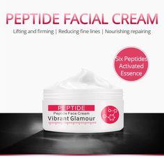 Six Peptide Face Cream Anti Wrinkle Face Lifting Facial Cream Anti- Aging Skin Care Cream Creme Anti Rides, Creme Anti Age, Anti Aging Cream, Anti Aging Facial, Anti Aging Skin Care, Facial Cream, Anti Aging Treatments, Glamour, Anti Wrinkle