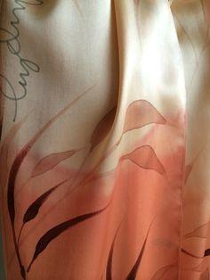 Hand dyed silk. Savanna. www.stonewellstudio.com