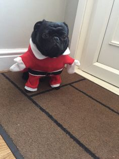 Not a happy santa
