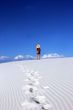 White Sands National Monument is otherworldly! Check out more photos from our visit on our blog.