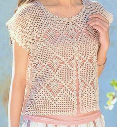 Short Tops, Knitting, Bolero Crochet, Crochet Tops, Women, Album, Fashion, Lace, Crocheting