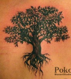 "perhaps future tree tattoo with quote ""of all the trees we couldve hit, we had to get one that hits back"" and more color of course!"