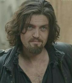 Captain gorgeous - Tom as Athos looking good Tom that hair  I love it