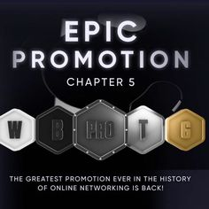 EPIC PROMOTION IS BACK!  Crowd1 is the worlds fastest growing online networking company and will always deliver the most lucrative bonus plans along with the industry's most powerful promotions ever!  In the exclusive period of 19 days, until June 5th, the day before the first-ever groundbreaking Crowd1 World Recognition Event, Crowd1 presents chapter 5 of the GREATEST PROMOTION of all time in online networking.  FREE UPGRADE for all new and existing Crowd1 members! The Epic Promotion, which… Promotion, Der Computer, Work Opportunities, 19 Days, Planer, All About Time, How To Plan, Period, June