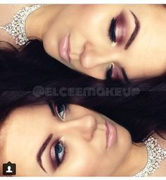 Make up idea. Picture  only