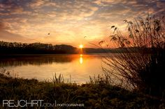 #Sunrise pond #Broumar - #Waterscape
