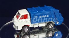 TOMICA 047D MITSUBISHI CANTER REFUSE TRUCK | 1/72 | JAPAN | 047D-20 | B-FRAME
