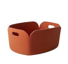 Restore storage basket orange