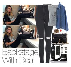 """""""Backstage With Bea"""" by zarryalmighty ❤ liked on Polyvore featuring Topshop, Vans, Rebecca Minkoff, Chan Luu, women's clothing, women's fashion, women, female, woman and misses"""