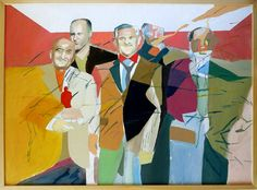 Painting by One-to-Watch: Gorkem Dikel http://magazine.saatchiart.com/articles/artnews/saatchi-art-news/one-to-watch/gorkem-dikel