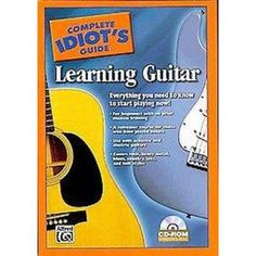 The Complete Idiot's Guide to Learning Guitar (CD-ROM)
