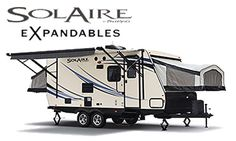 New Palomino SolAire Expandables Hybrid Camper RVs For Sale at The Original RV Wholesalers