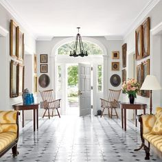 Alison Spear's home via Architectural Digest