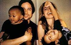 Image result for Angelina Jolie Brad Pitt Family