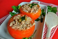 Pomodori+ripieni+di+tonno