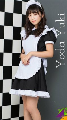 Maid Outfit, Maid Dress, Dress Up, Cosplay Lindo, Cute Cosplay, Maid Cosplay, Maid Uniform, Girls In Mini Skirts, Cute Japanese Girl