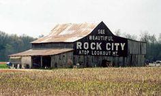 love the Rock City barns history