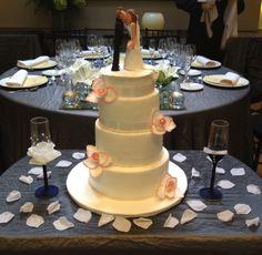 Tarta de la boda de Piero y Lucia