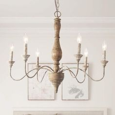 French Country Chandelier, Modern French Country, French Country Kitchens, French Country Bedrooms, Farmhouse Chandelier, French Country Farmhouse, French Country Decorating, Rustic Farmhouse, French Country Lighting