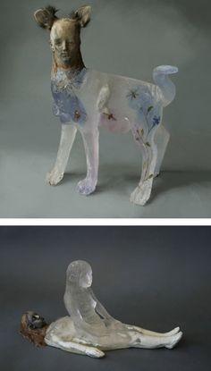 10 Amazing Transparent Sculptures - Oddee.com (transparent sculptures)