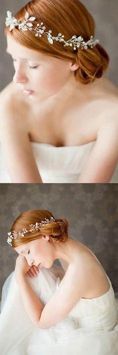 Frauen Chic Feather Haarnadel Haar Clip Tanz Party Hairwear Masquerade
